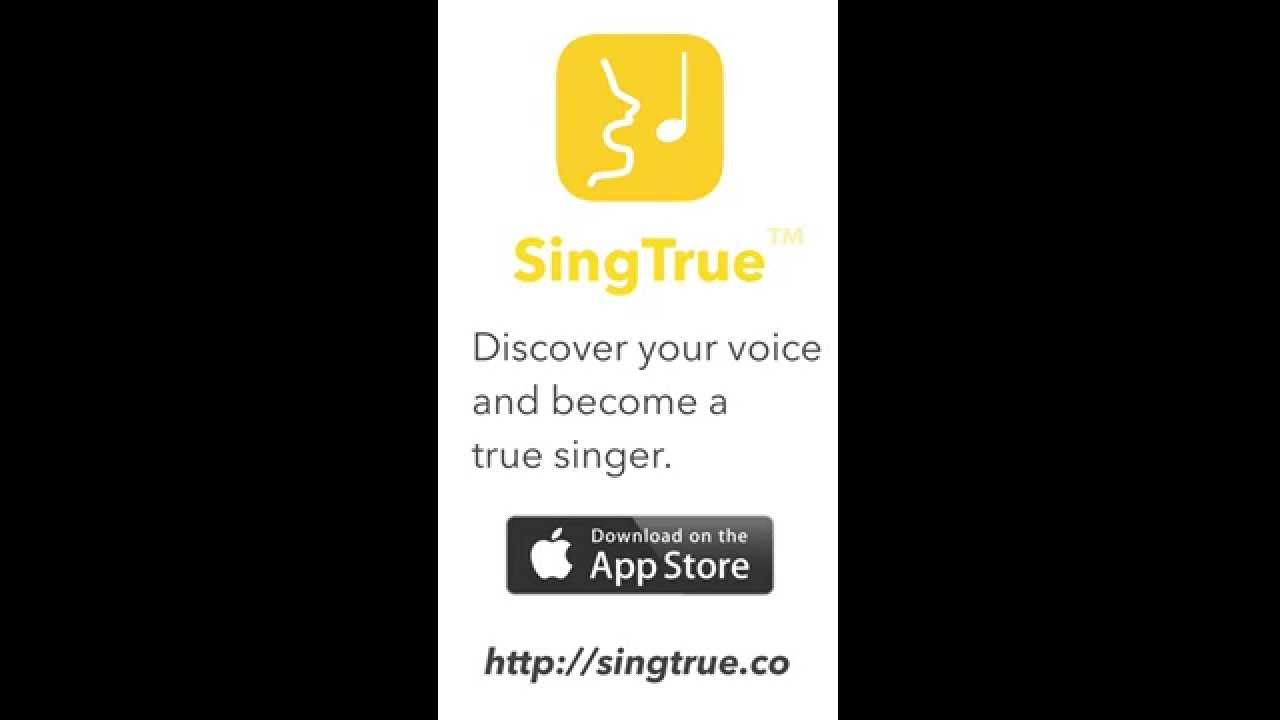 learn to sing with new singtrue iphone app youtube. Black Bedroom Furniture Sets. Home Design Ideas