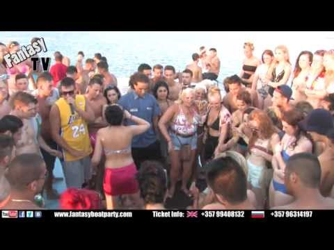 FANTASY BOAT PARTY AYIA NAPA CYPRUS MONDAY 22ND JULY 2013 (17:00-21:00) VIP BOAT from YouTube · Duration:  4 minutes 25 seconds