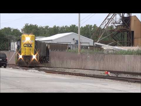 Closing Up The Hoppers-RailFanning-Grand River, Ohio