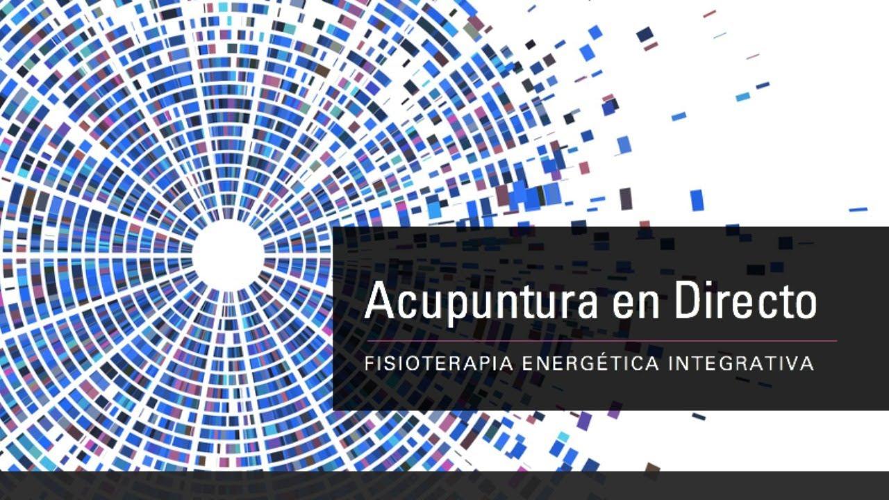 Fisioterapia Energética Integrativa. ACUPUNTURA EN DIRECTO.