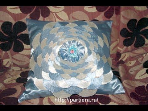 Мастер класс - Декоративная подушка Роза