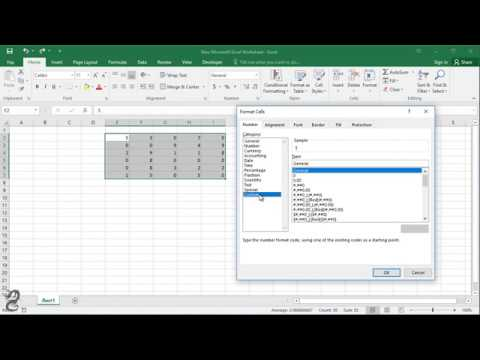 How to Convert 0 (Zero) to - (Dash) Without Formula in Excel