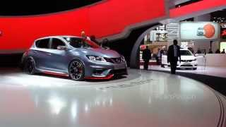 Nissan Pulsar NISMO Concept 2014 Videos