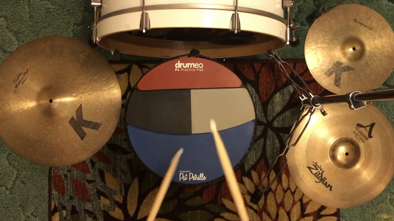 P4 Practice Pad/ Simple Exercise To Build Control/Power