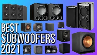 BEST SUBWOOFER 2021 | TOP 10 BEST SUBWOOFERS 2021 | HOME THEATER
