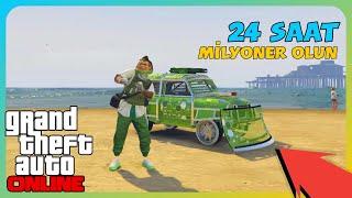 GTA Online - 24 Saatte Milyoner Olun Araba Kopyalama (PS4/XB1)