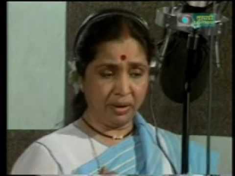 Asha Bhosle - Marathi Live - jiwalaga kadhi re yeshil too