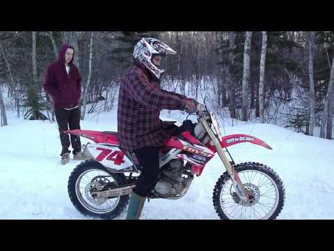 First Timers On Honda 250 Dirtbike