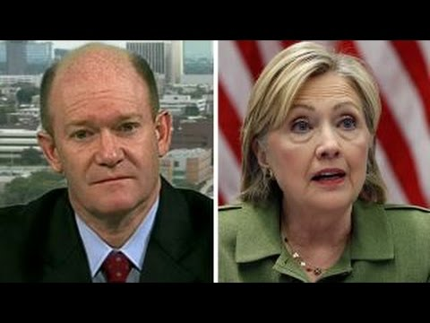 Sen. Chris Coons defends Clinton after damaging AP report