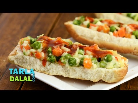 how to make hot dog at home veg