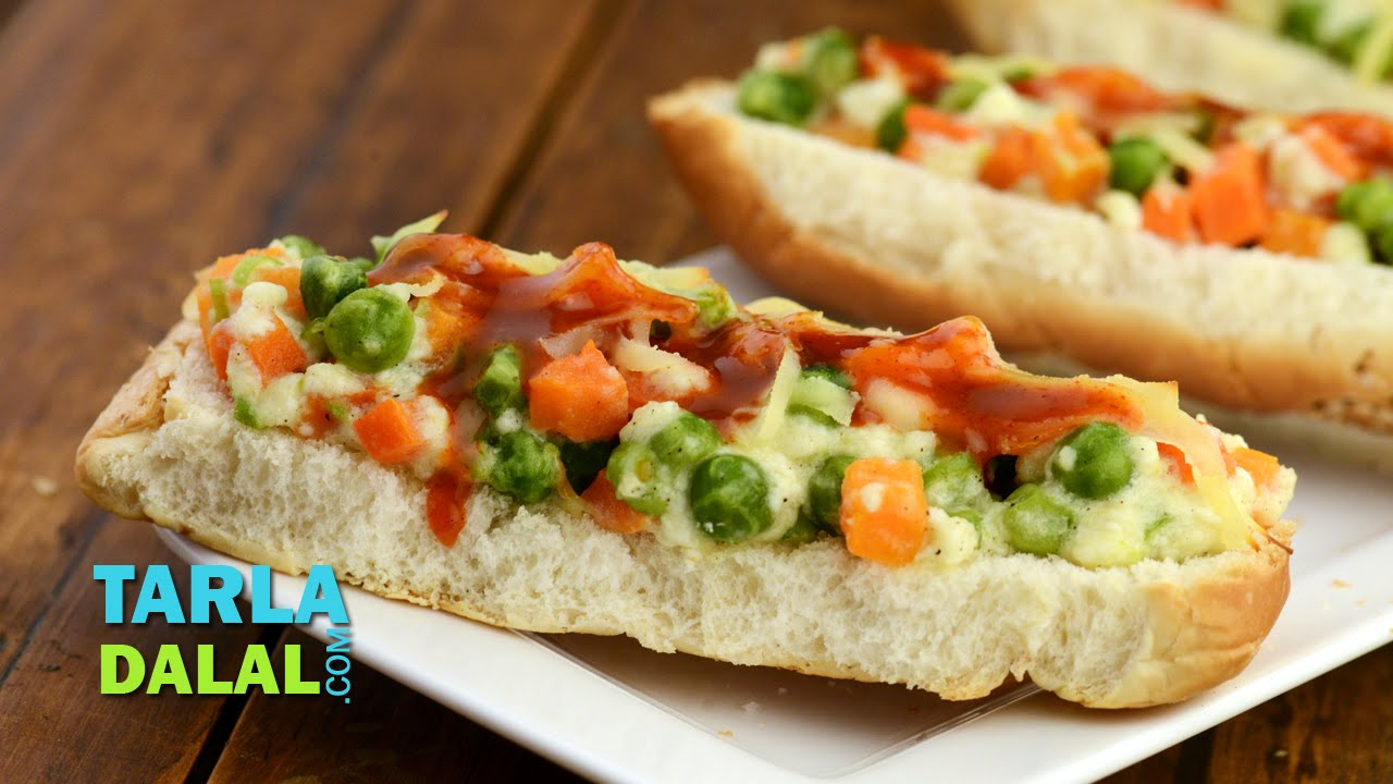 Mixed vegetable and paneer open hot dog roll by tarla dalal youtube mixed vegetable and paneer open hot dog roll by tarla dalal forumfinder Gallery