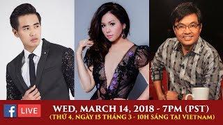 Livestream với Huỳnh Thi, Minh Tuyết, Khải Đăng - March 14, 2018