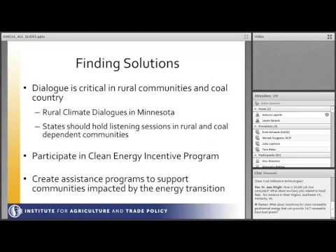 WEBINAR: Can Coal Country Thrive in a Clean Energy Economy?