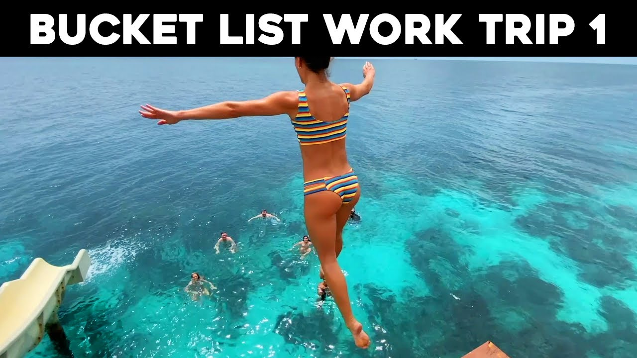 Our 1st team meeting on a private island in BELIZE! Meet The Bucket List Studios team!