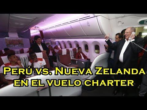 Perú vs. Nueva Zelanda VUELO CHARTER