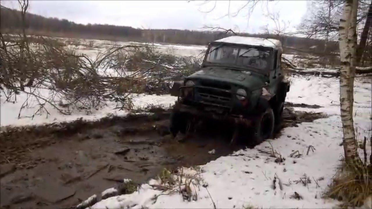 УАЗ ФБЕЛ-160м военные мосты - обзор - YouTube