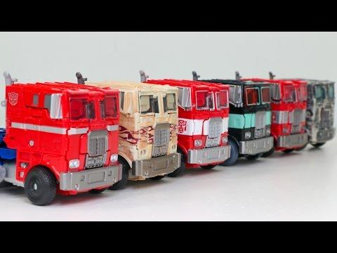 Transformers Movie 4 Age Of Extinction Evasion Mode Optimus Prime 6 Truck Vehicle Robot Car Toys