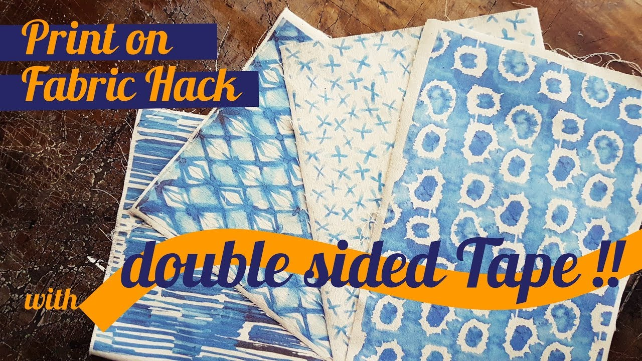 How To Print On Fabric Hack With Inkjet Printer And No Freezer