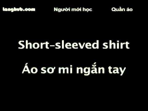 Quần áo - Langhub.com [học tiếng Anh]