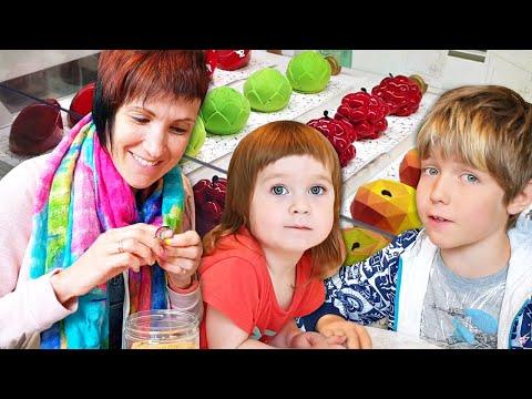 Сладости в фудмолле Депо (Москва) - Влог мамы Маши Капуки