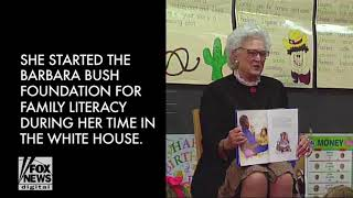 Barbara Bush's funeral will be attended by Melania Trump, Clintons, others