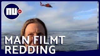 Amerikaanse piloot crasht met vliegtuigje in oceaan, maar filmt zelf alles