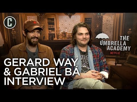 Umbrella Academy: Gerard Way & Gabriel Ba Interview Mp3