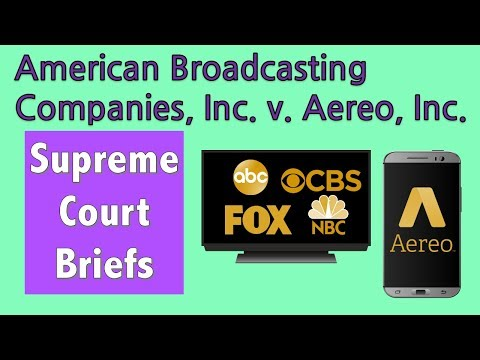 Broadcast Television on Your Phone? | ABC v. Aereo