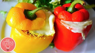 Easy Stuffed Peppers With Lemon Couscous - Перцы, фаршированные кускусом