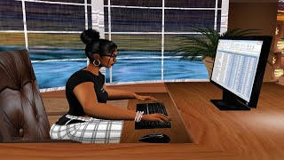 Working From Home and Listening to Calm Music on IMVU. Part 39 screenshot 5