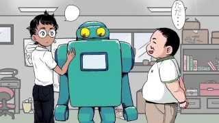 第二回新人監督映画祭『アニメ作品部門』で上映された作品です。 「ナカノクンロボ」の原作4コマ漫画を映像化! ※「ナカノクンロボ」は、「...