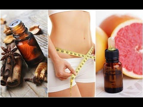 6 huiles essentielles pour vous aider à perdre du poids