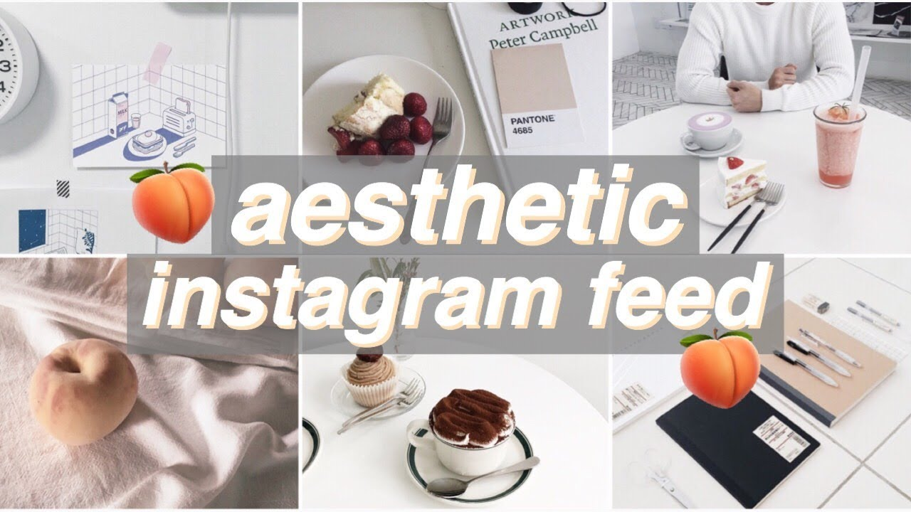 how to make an pastel aesthetic insta