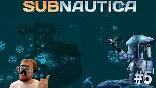 Subnautica #5 [Стримчик] Исследуем подводные руины и строим КРЕВЕТКА / КРАБ