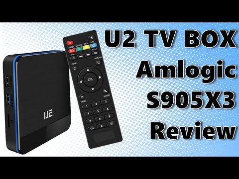 2020 U2 Amlogic S905X3 4K TV Box Review