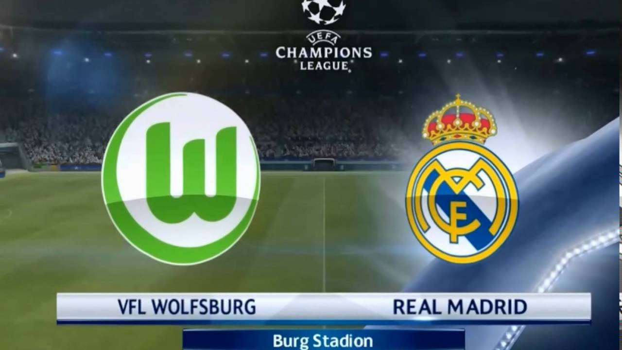 Real Madrid Vs Wolfsburg 3-1