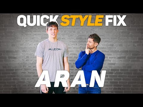 QUICK STYLE FIX: ARAN | A Men's Makeover Series *Brought To You By Tiege Hanley*