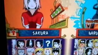 Como desbloquear sasuke classico e minato no naruto ultimate ninja 5