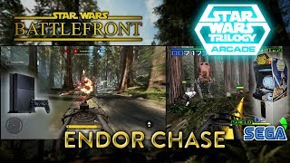 Endor Chase - Sega Star Wars Trilogy Arcade VS Battlefront (PS4)