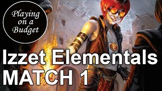 MTG Standard: Izzet Elementals vs Jund Monsters - Playing on a Budget