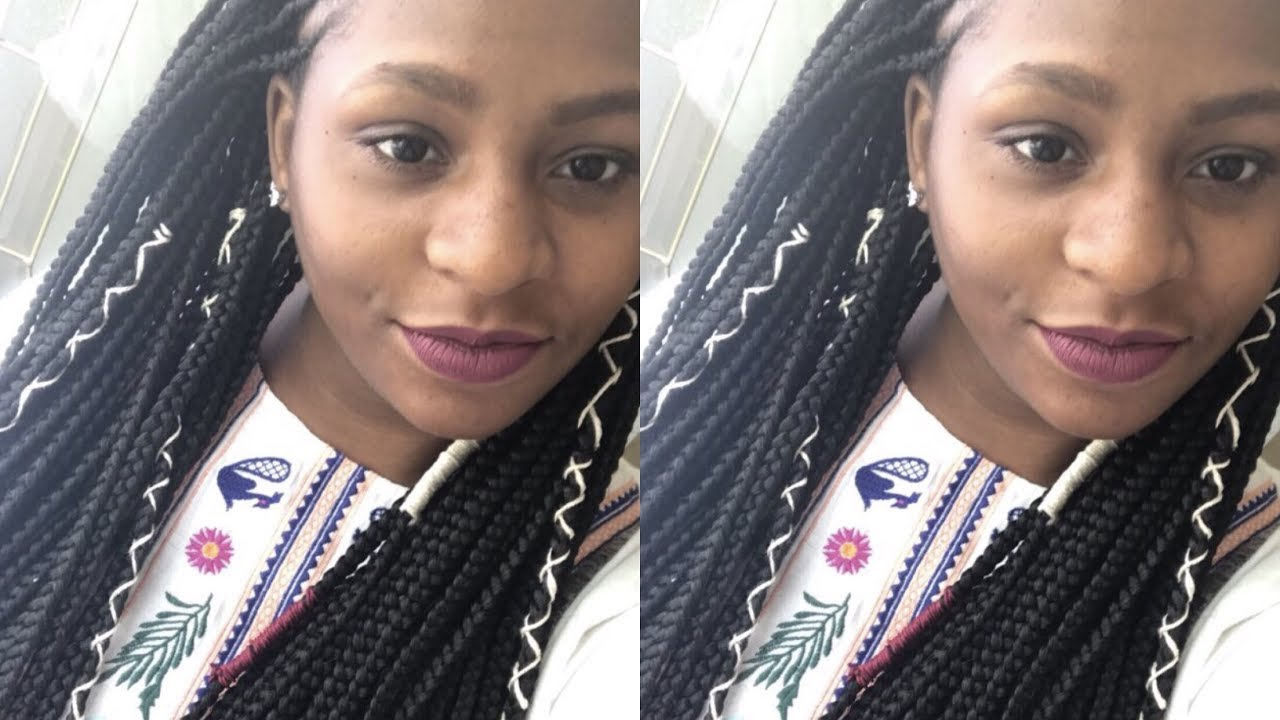 box braids accessories hairstyle inspirations 2018