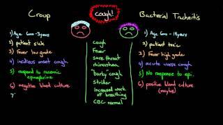 Croup (Laryngotracheobronchitis) | Quick Review | Parainfluenza Virus 🦠.