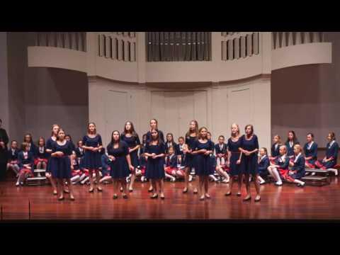 The Girl`s Choir at Jerzy Kurcewski - Poznan -