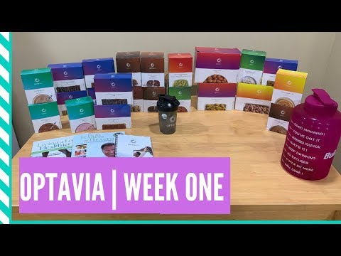 OptaVia week One | Medifast weight loss journey