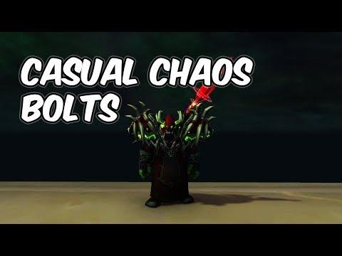 CASUAL CHAOS BOLTS (RBG) - 7.3.5 Destruction Warlock PvP - WoW Legion