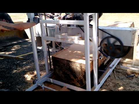Diy sawmill home built