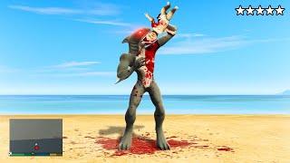 Playing as A HUMAN SHARK FUSION! (GTA 5 Mods)