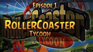 RollerCoaster Tycoon Gameplay Walkthrough Part 1 Forest Frontiers [1/2]