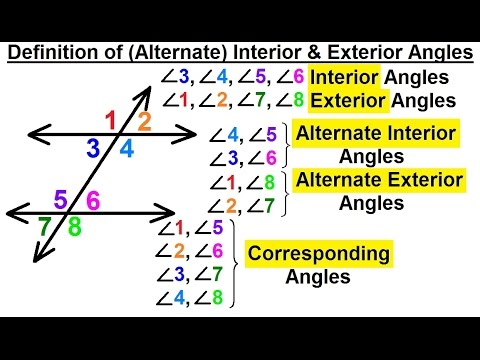 Geometry basic terminology 8 of 34 definition of for Exterior of an angle definition