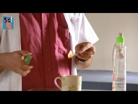 How To Make Fire Extinguisher At Home - Kids Science Experiments